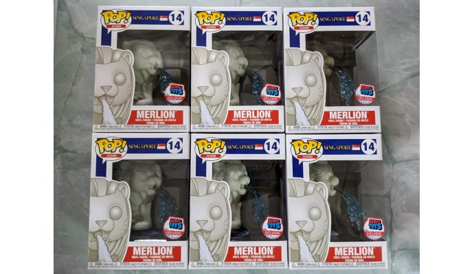 [Bulk] Funko POP #14 Merlion carton of 6. Shipping Included