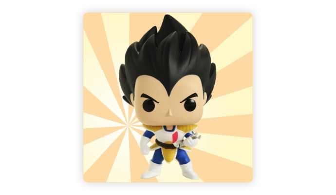 POP Animation: #676 Vegeta (Over 9000) Dragonball EX