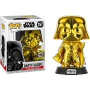 POP SW: #157 Darth Vader (Chrome) EX Vinyl Figure