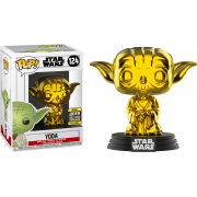 POP SW: #124 Yoda (Chrome) EX Vinyl Figure