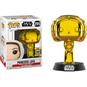 POP SW: #295 Princess Leia (Chrome) EX Vinyl Figure