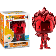 POP Animation: #154 Super Saiyan Vegeta (Red Chrome) SDCC19