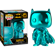 POP Heroes : #144 Batman (Teal Chrome) SDCC19